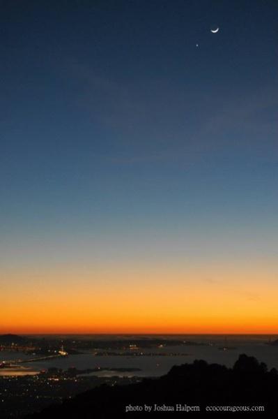 SF Bay Sunset by Joshua Halpern ecocourageous.com